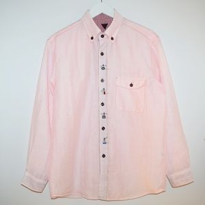 RARE NOS Vintage Angelo Garbasus Sport Button Up
